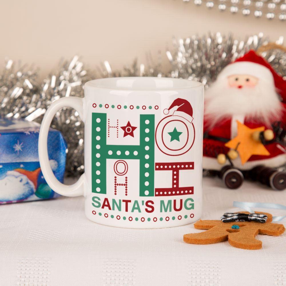 Ho Ho Ho Santa Christmas Drink Mug