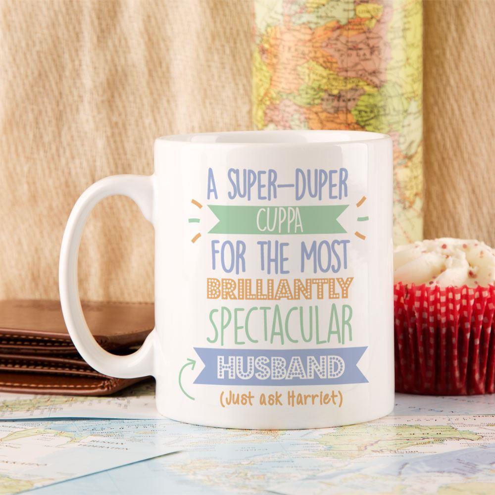 Personalised Best Husband...Just Ask Mug