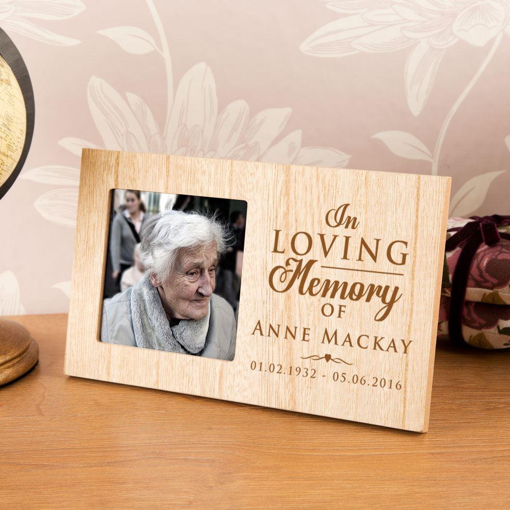 In Loving Memory Picture Frames  Personalized Memorial