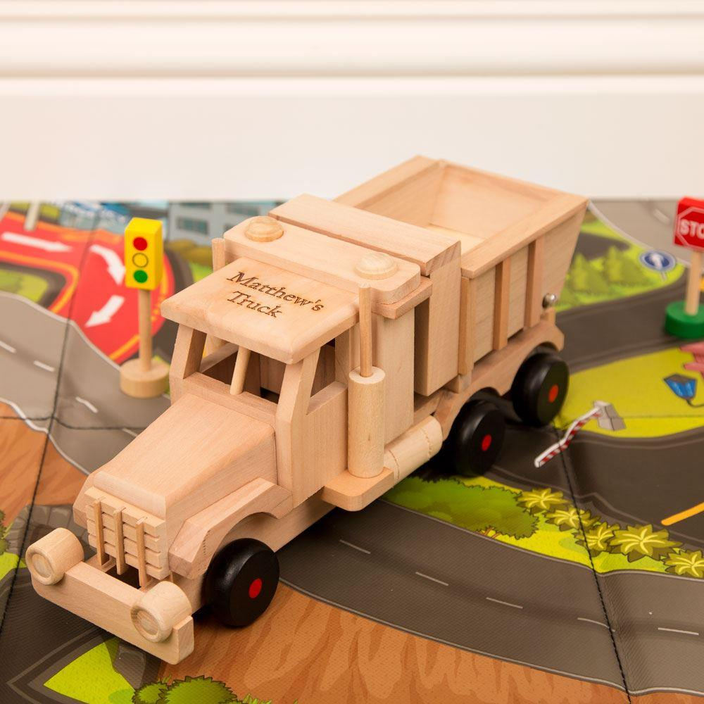 Wooden Tipping Sand Truck