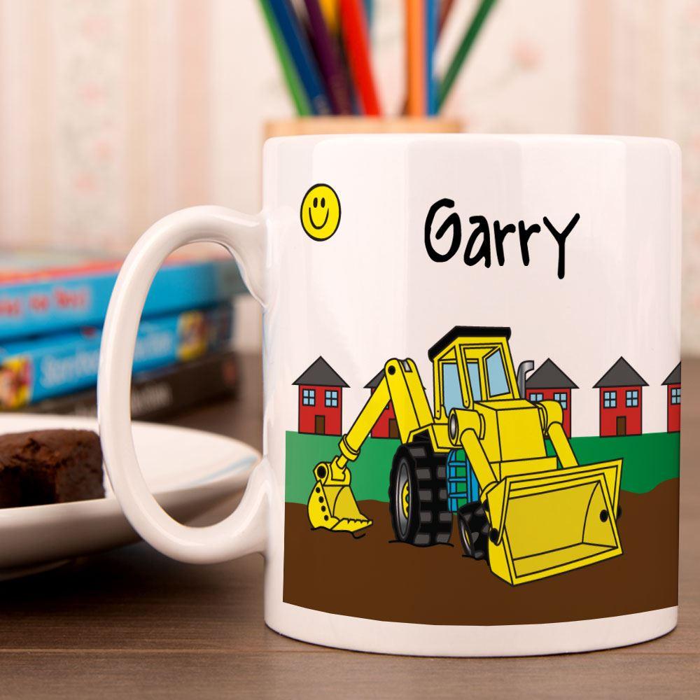 Yellow Digger Mug