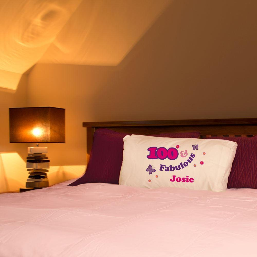 Image of 100 And Fabulous Pillowcase For Her