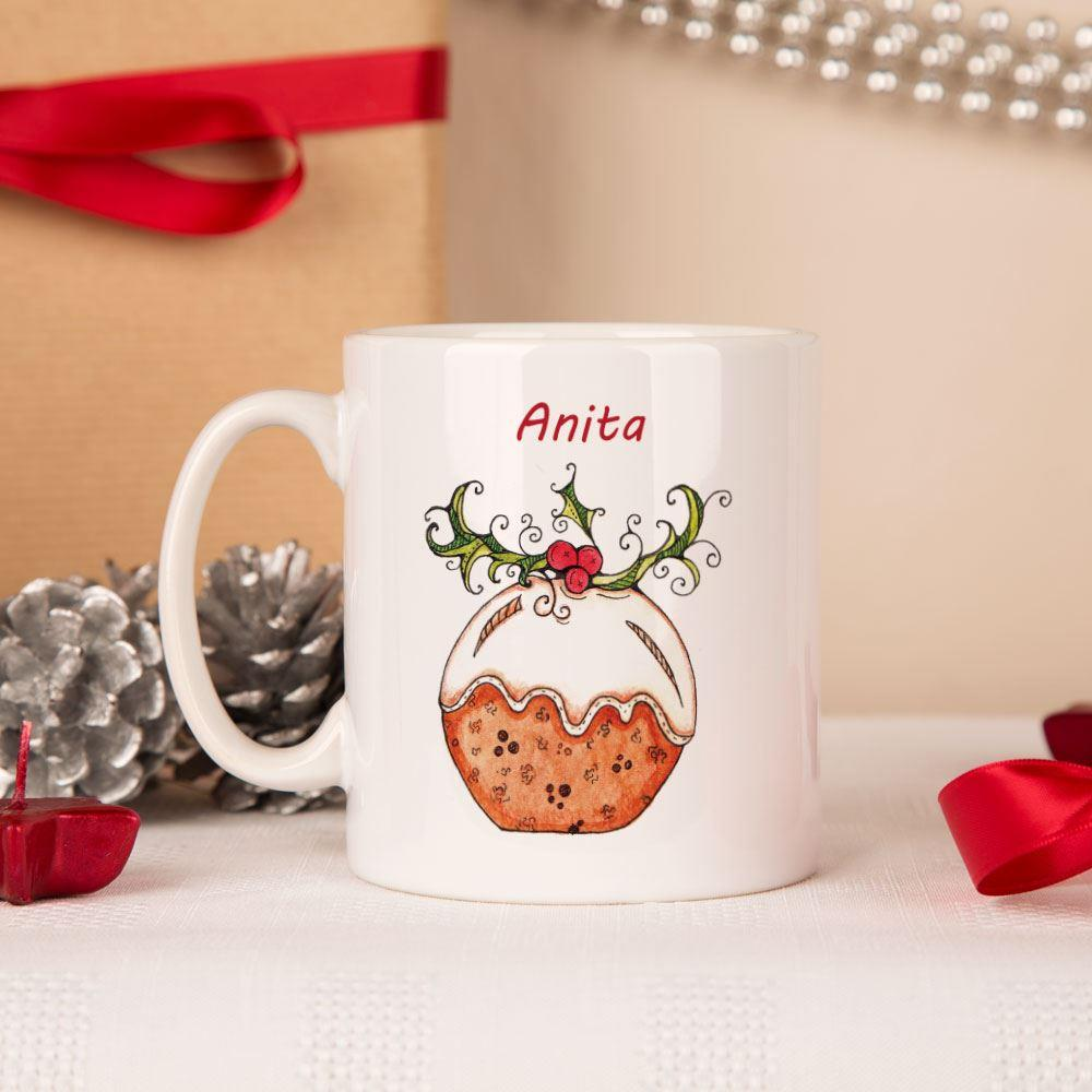 Bespoke Christmas Pudding Mug