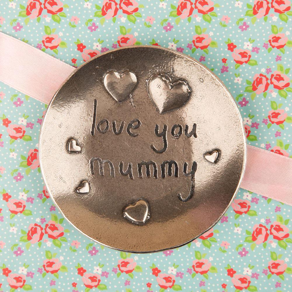 Love You Mummy Trinket Plate