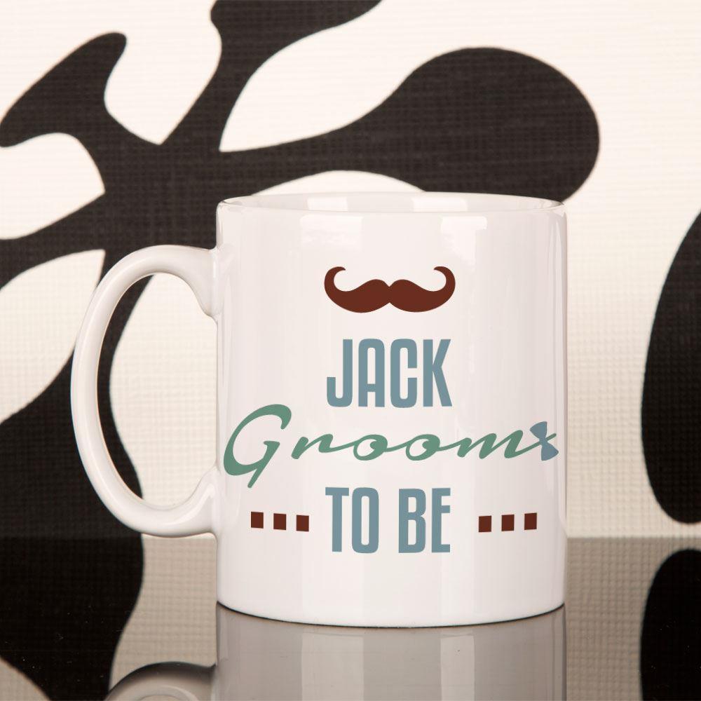Personalised Groom to Be Mug