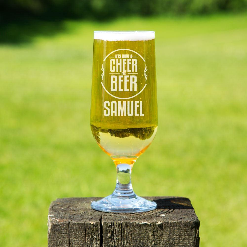 Cheer for Beer Personalised Beer Chalice