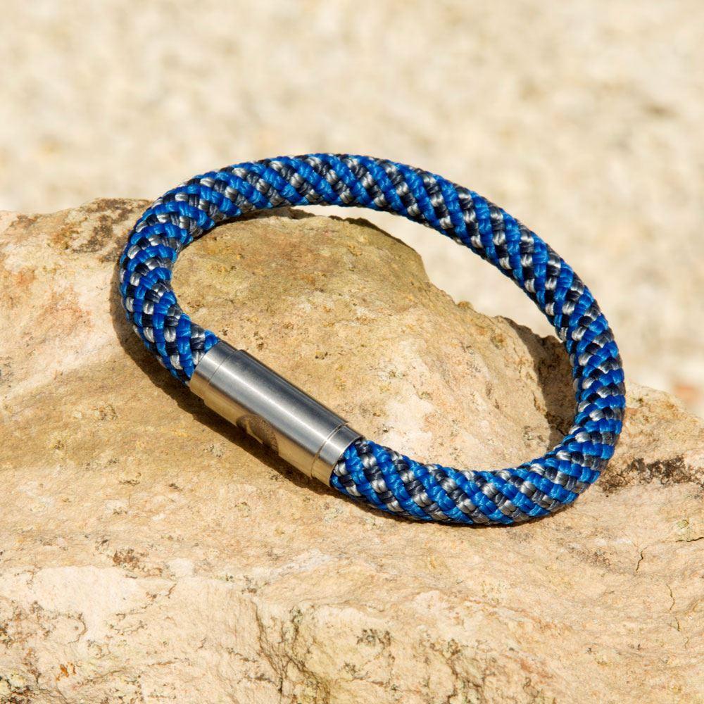 Designer Bluestone Wristband