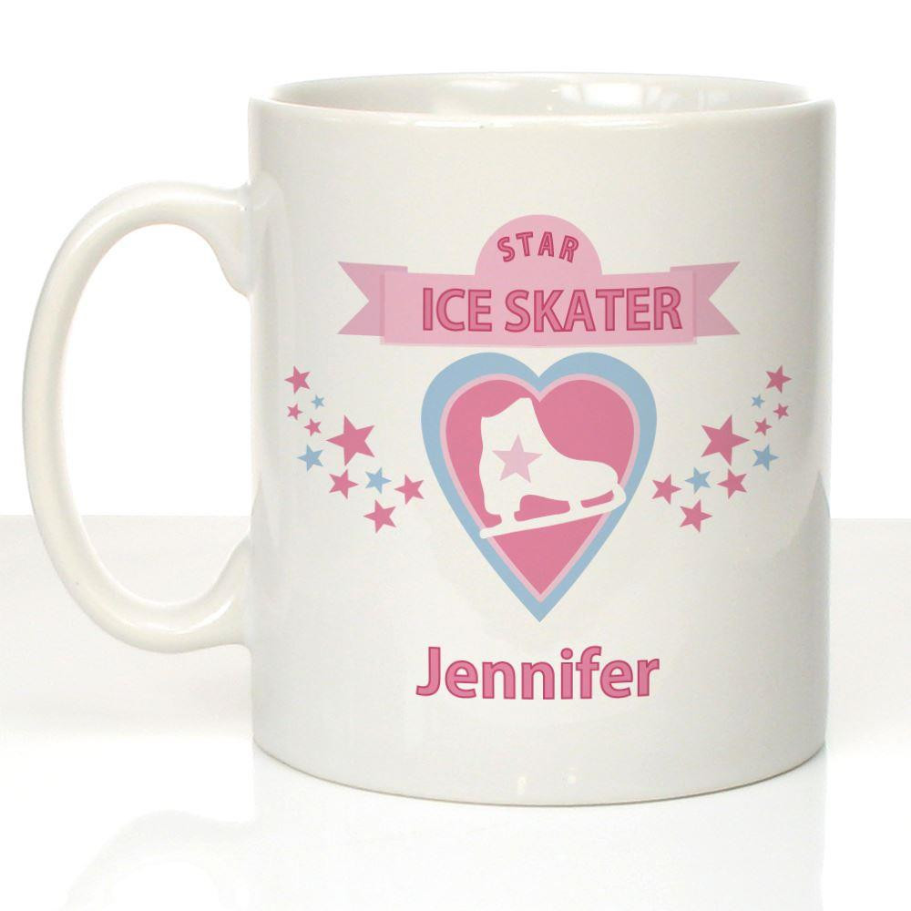 Personalised Ice Skating Mug