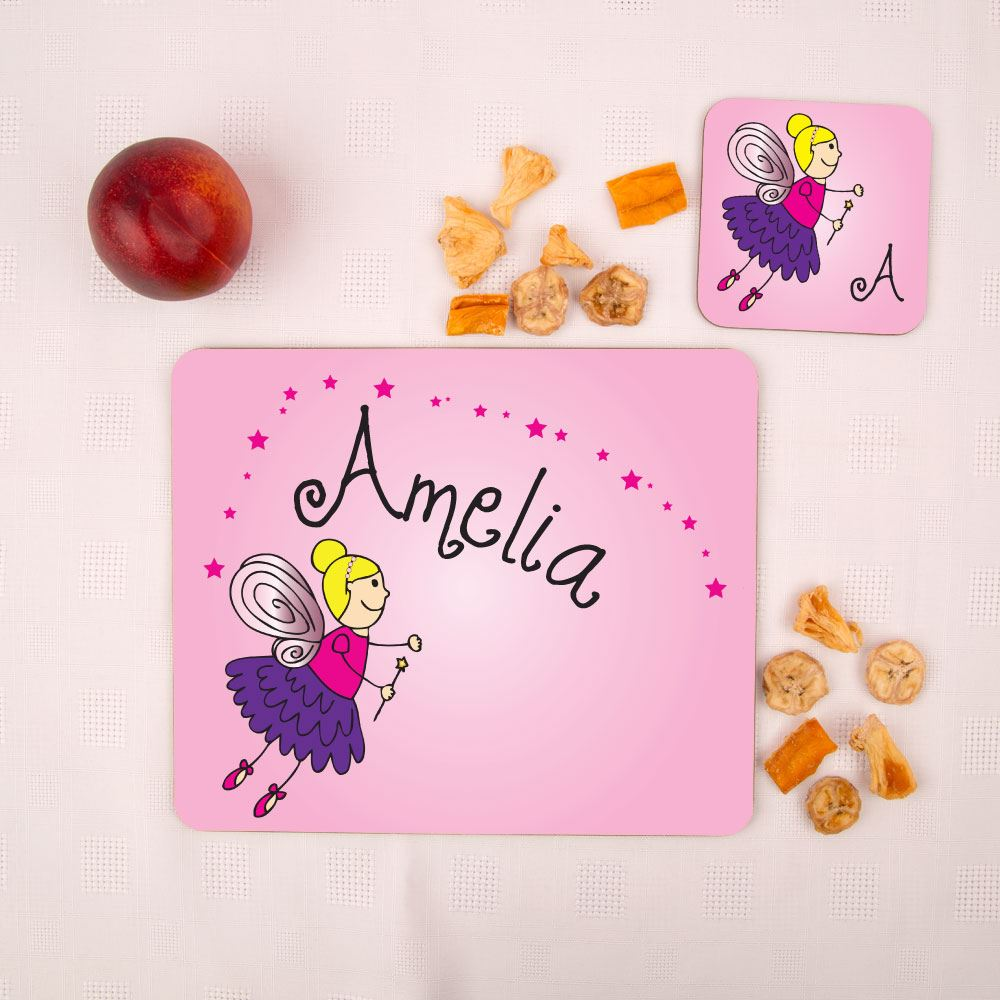Fairy Placemat and Coaster Set