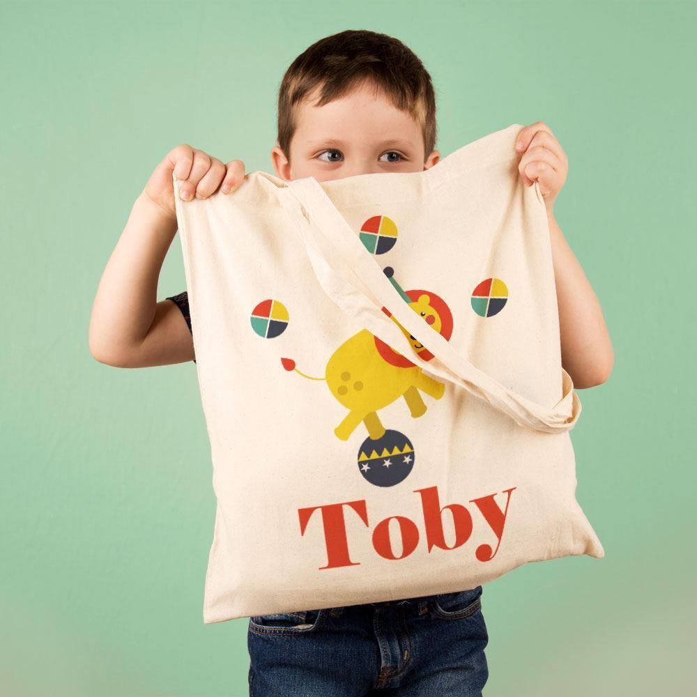 Childrens Circus Lion Shoulder Bag