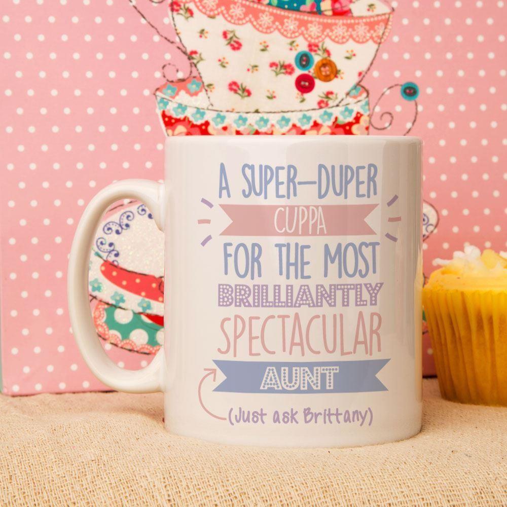 Personalised Best Aunt...Just Ask Mug