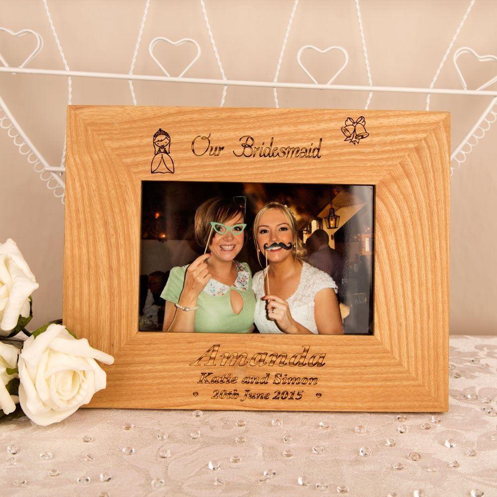Bespoke Bridesmaid Oak Frame