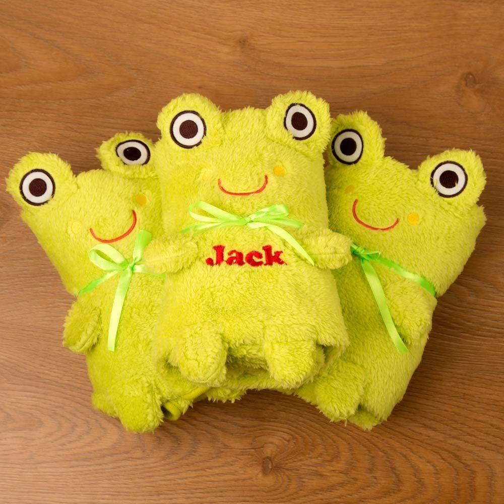 Personalised Frog Blanket