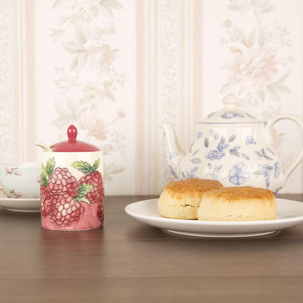 Ceramic Raspberry Jam Jar With Gift Box