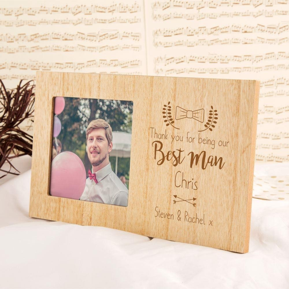 Customised Best Man Photo Frame