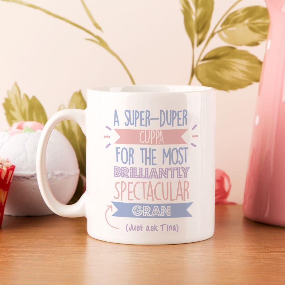 Personalised Best Gran...Just Ask Mug