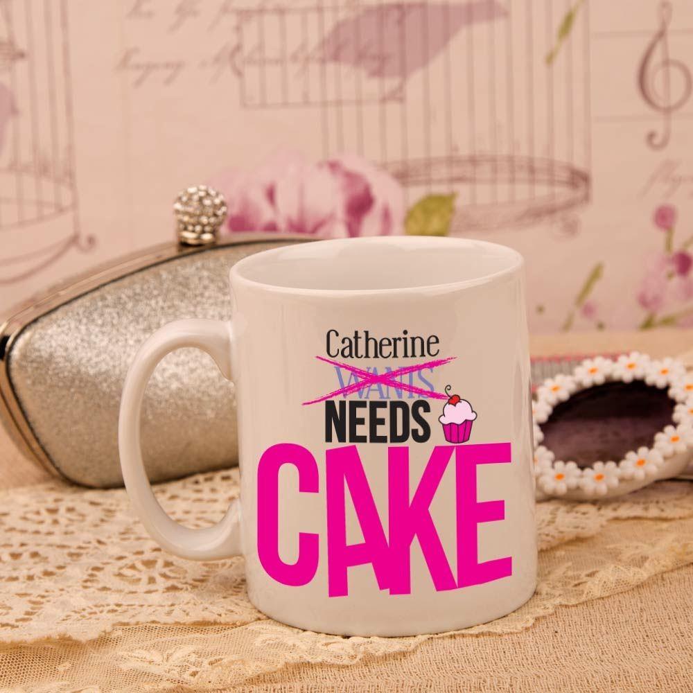 Personalised Cake Lover Mug