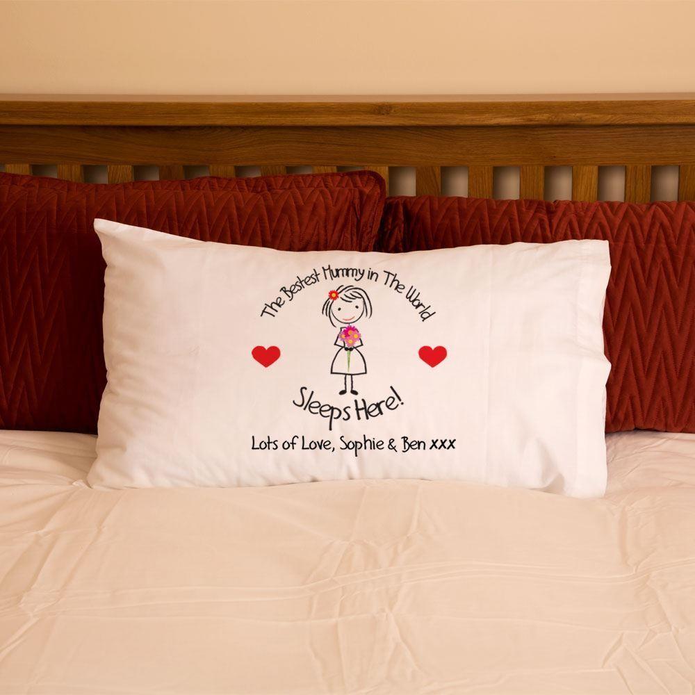 Bestest Mummy In The World Pillowcase