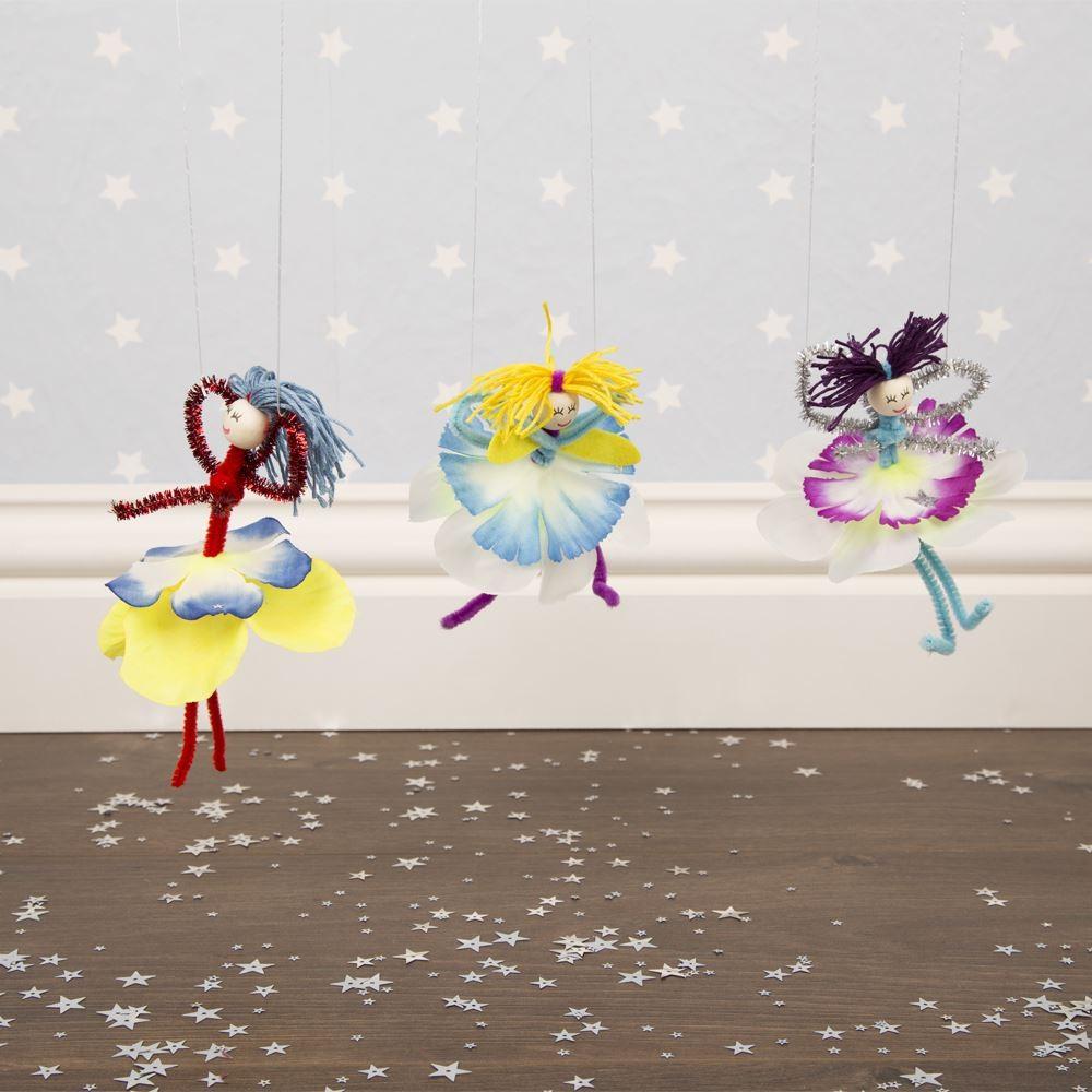 Fashion A Flower Fairy In A Tin