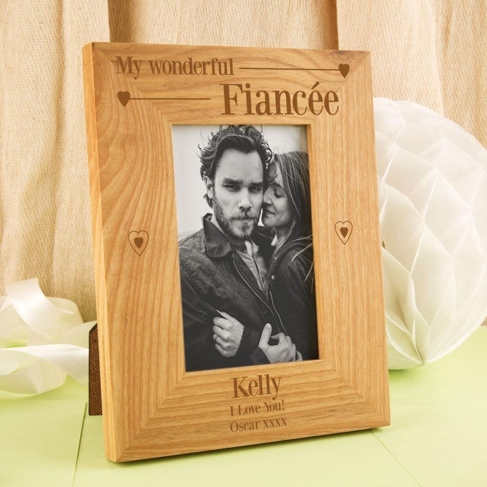 Unique Wonderful Fiancée Oak Frame