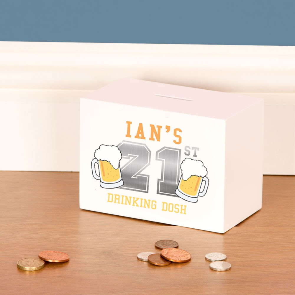 21st Birthday Beer Drinking Fund for him