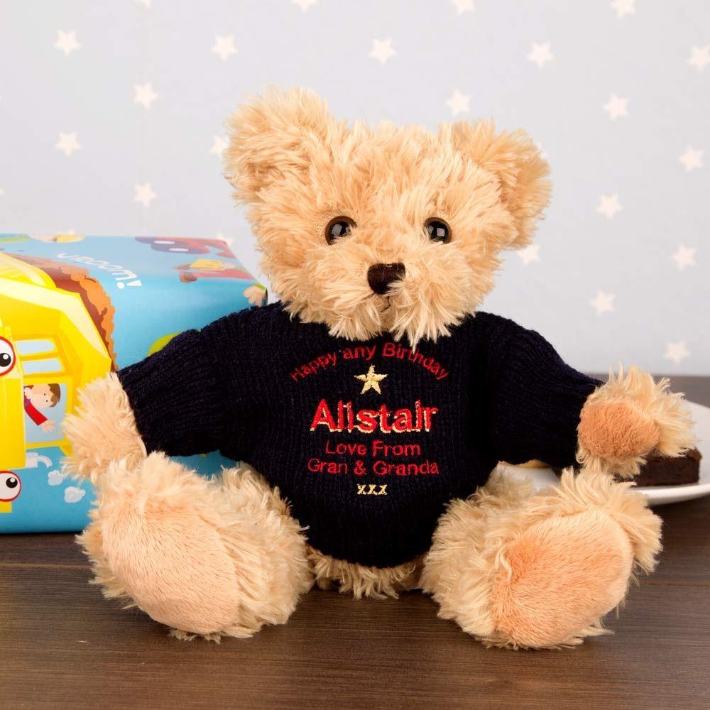 Personalised Birthday Teddy Bear