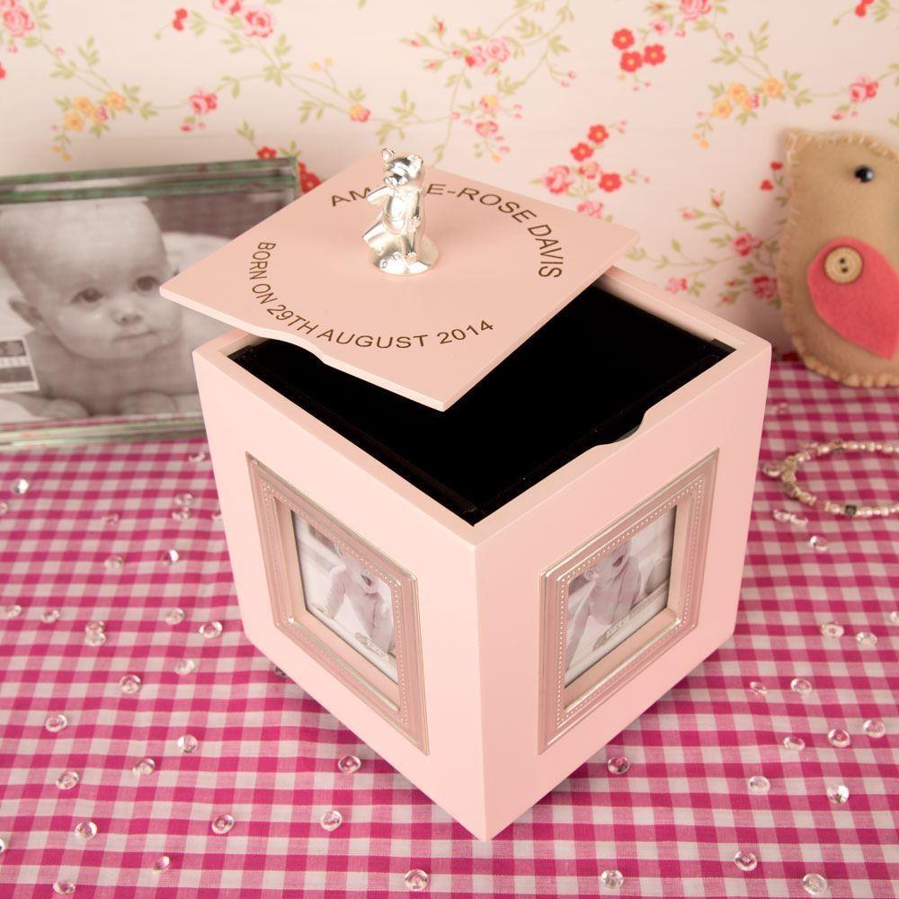 Baby Girls Pink Musical Box