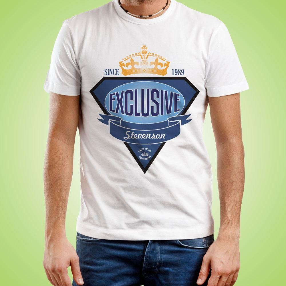Personalised Exclusive Brand Design Mens T-Shirt