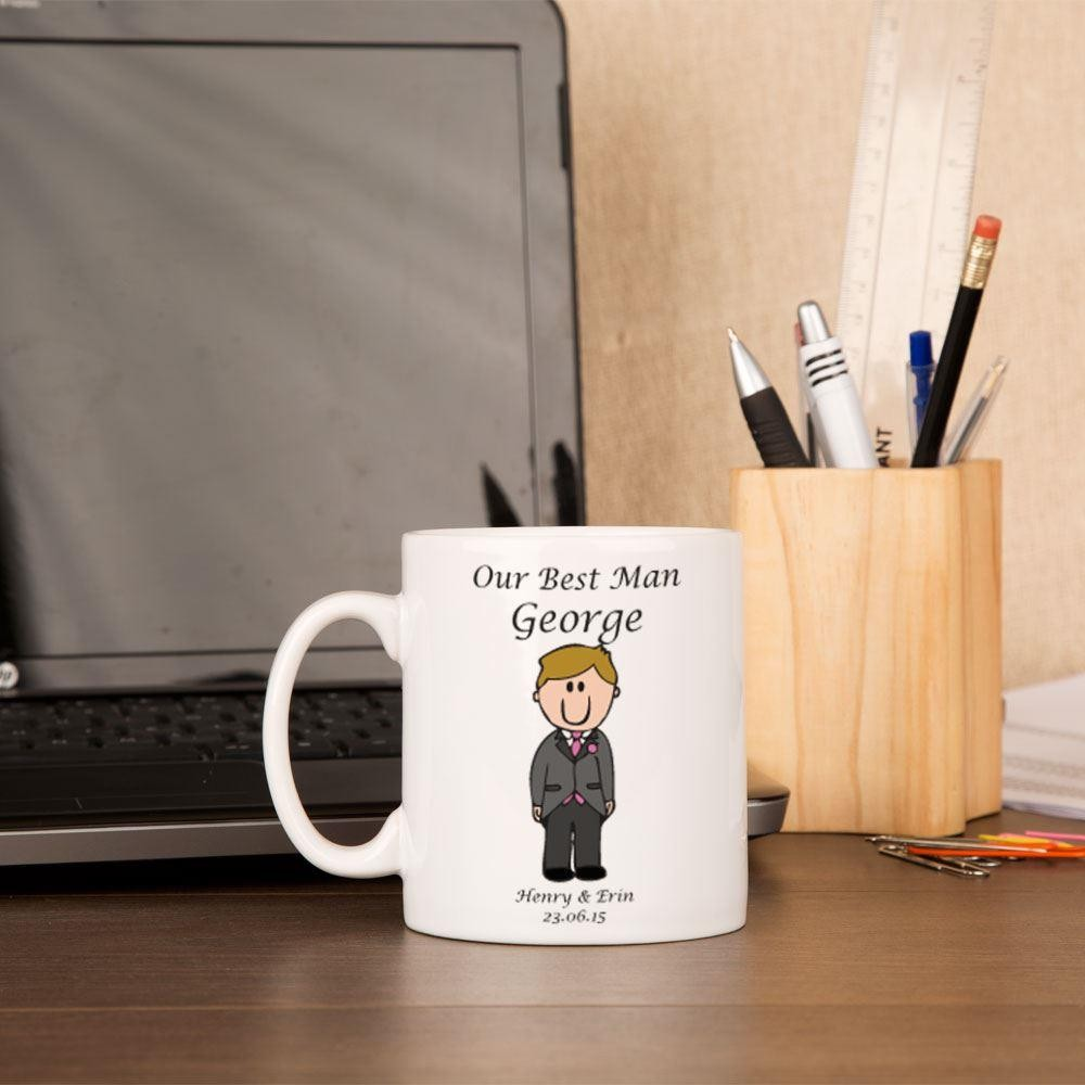 Personalised Best Man Mug