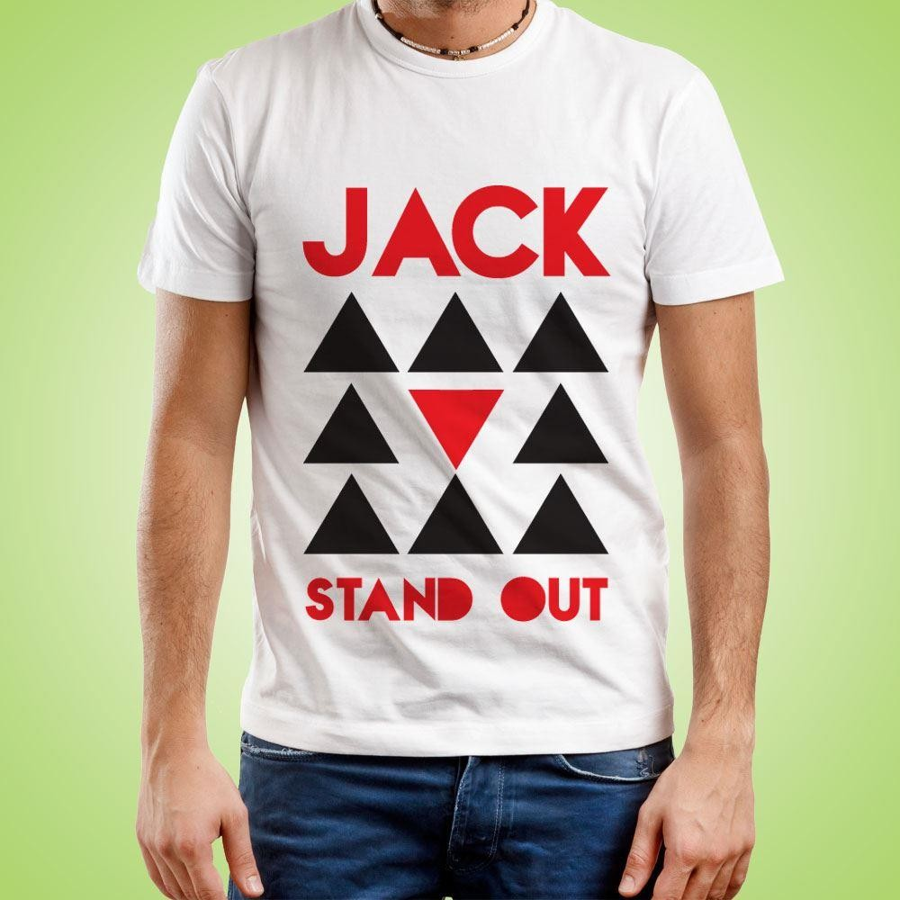 Customised Stand Out Mens T-Shirt