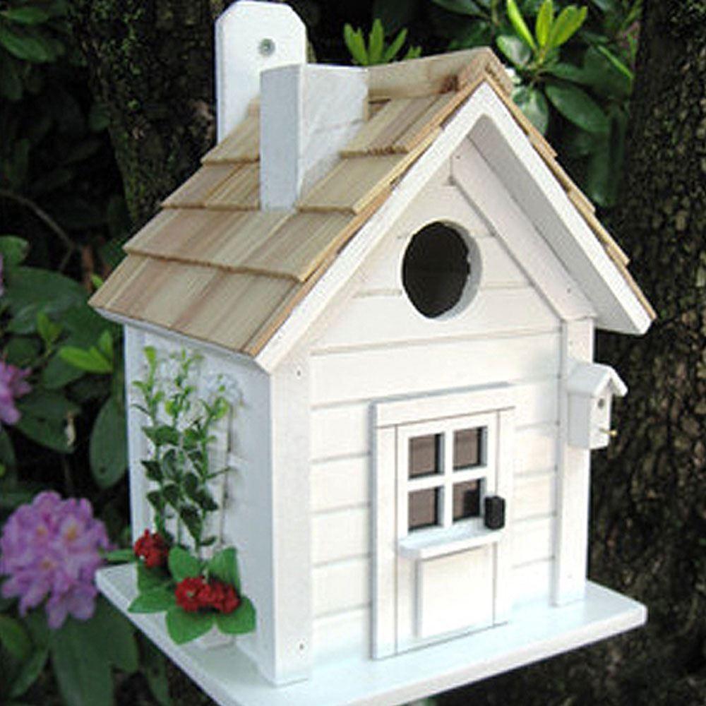 Trellis Garden Cottage White Bird House Forever Bespoke