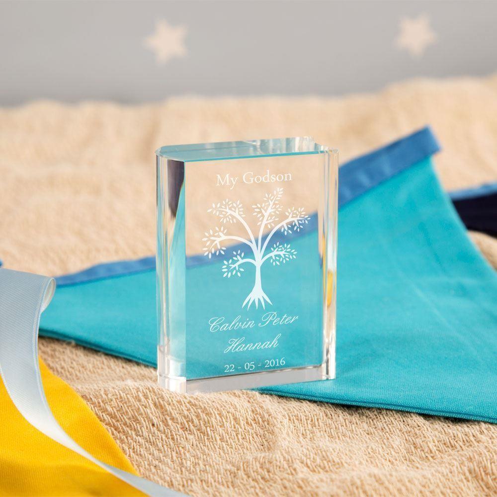 Tree Miniature Glass Book