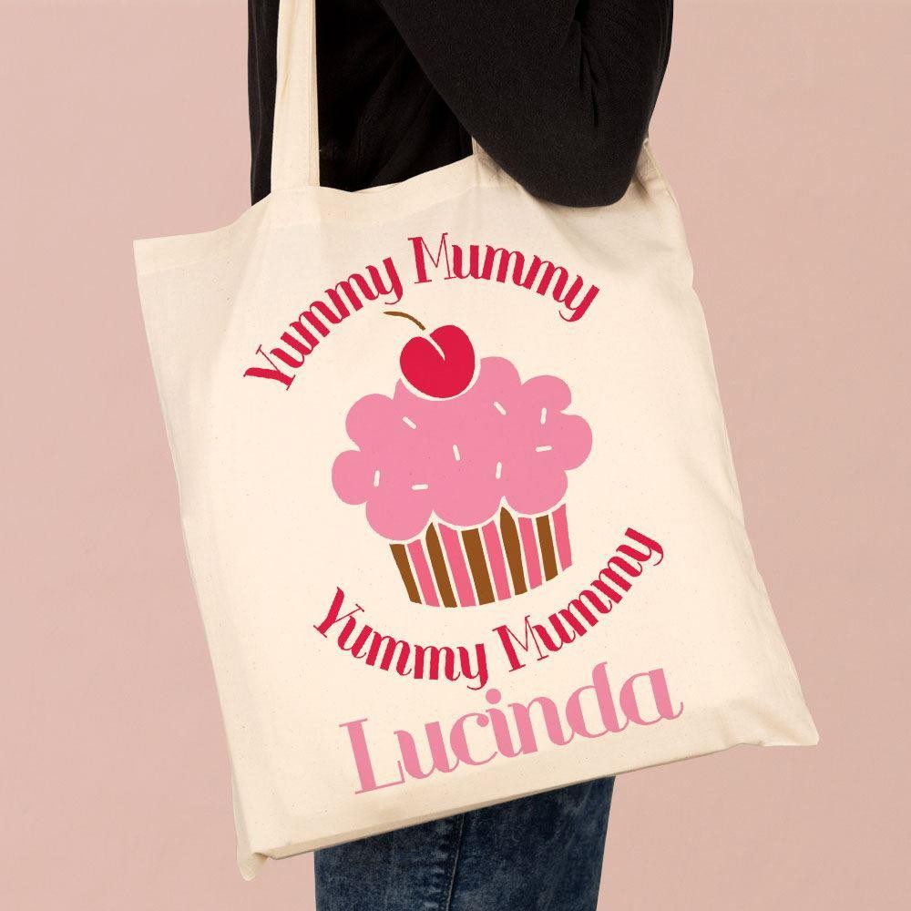 Printed Yummy Mummy Shoulder Tote