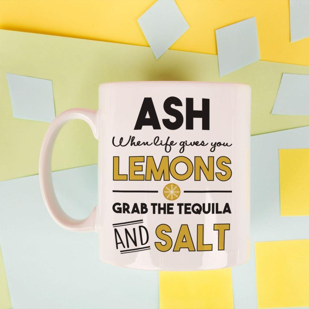 When Life Gives You Lemons...Personalised Mug