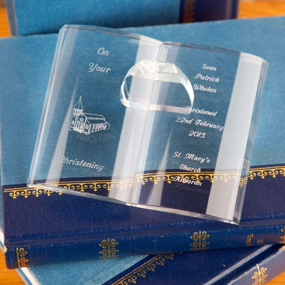 Personalised Crystal Bible