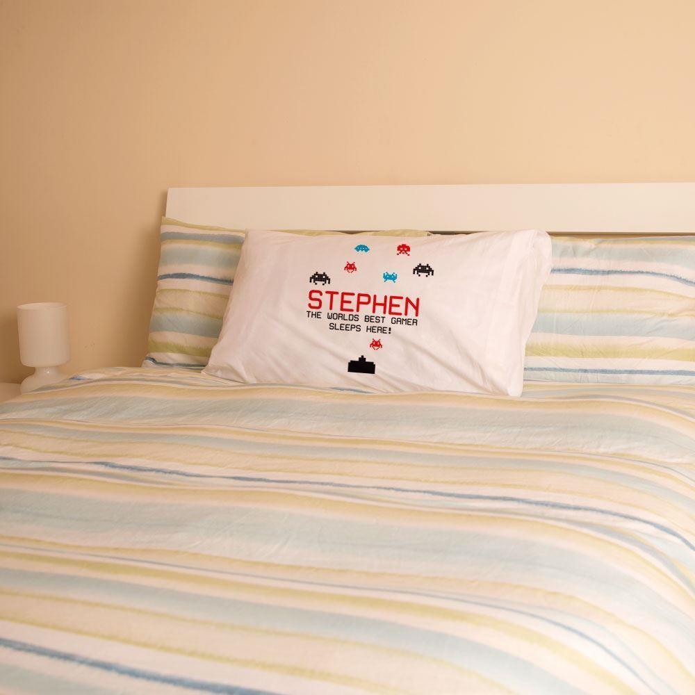 Personalised Best Gamer Pillowcase