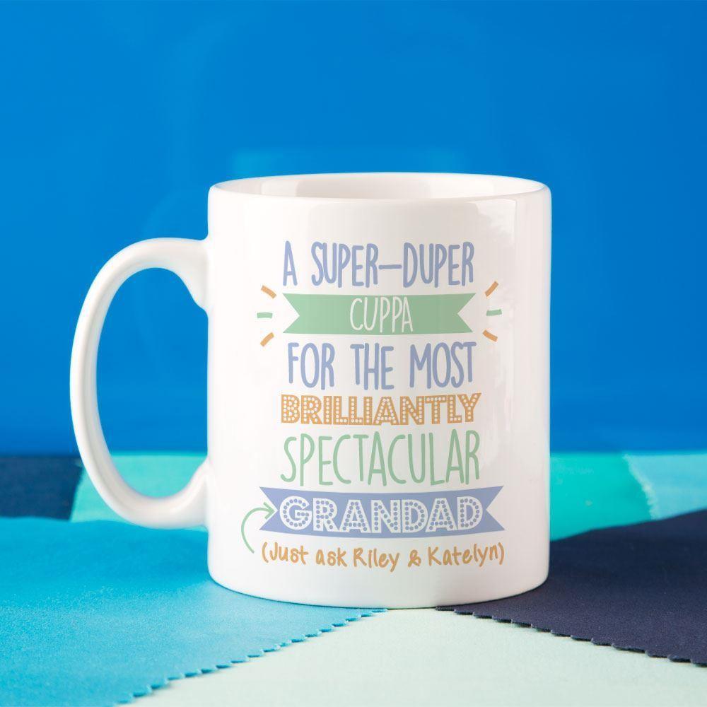 Personalised Best Grandad..Just Ask Mug