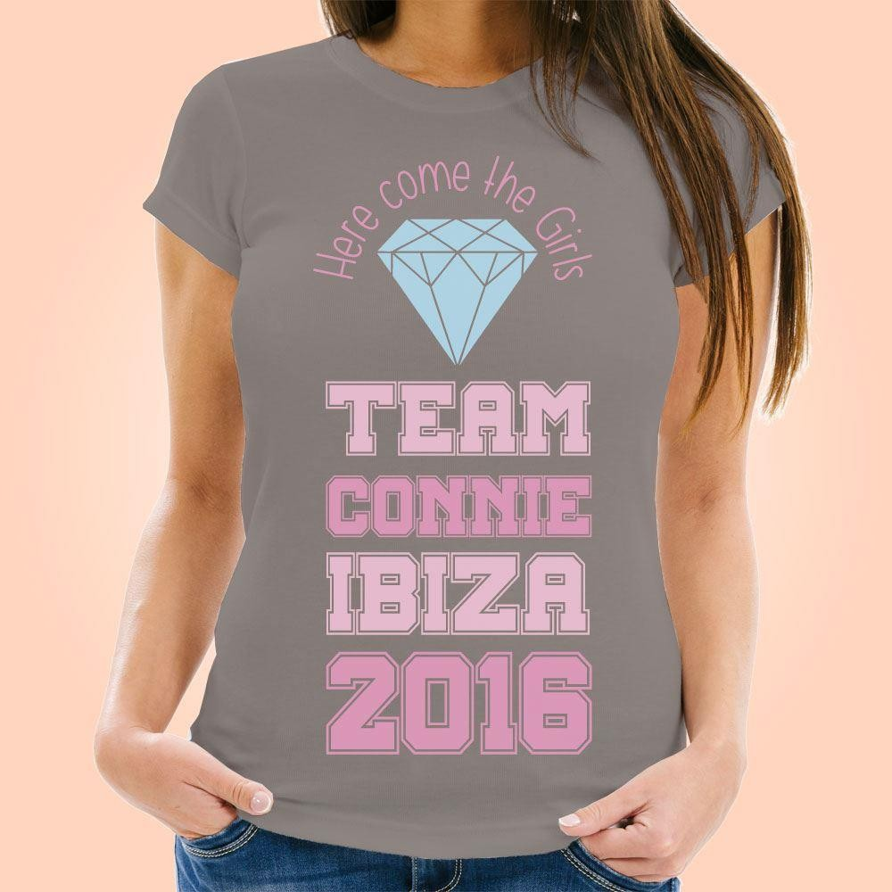 Here Come The Girls Personalised Hen Do T-Shirt