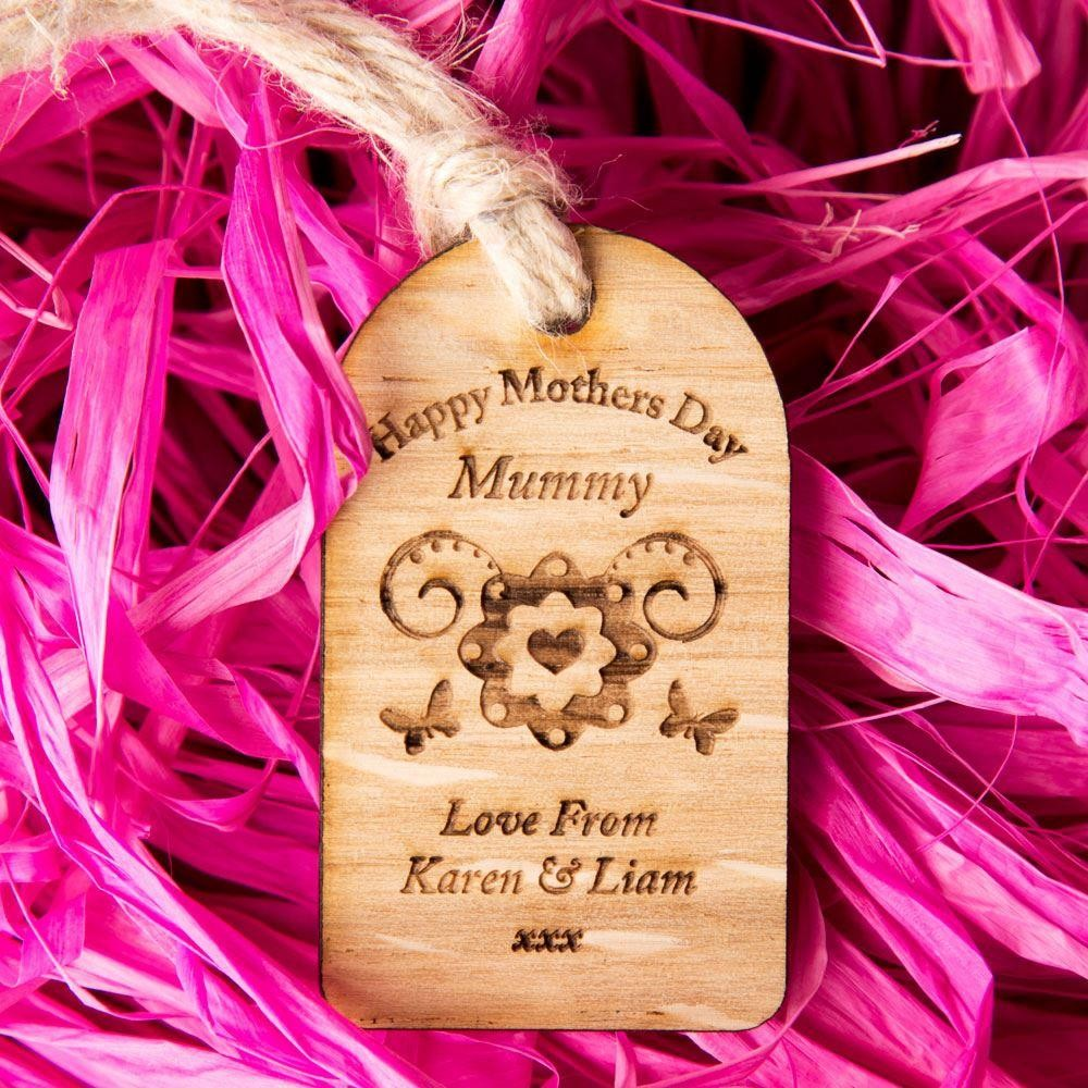 Mothers Day Wooden Tag