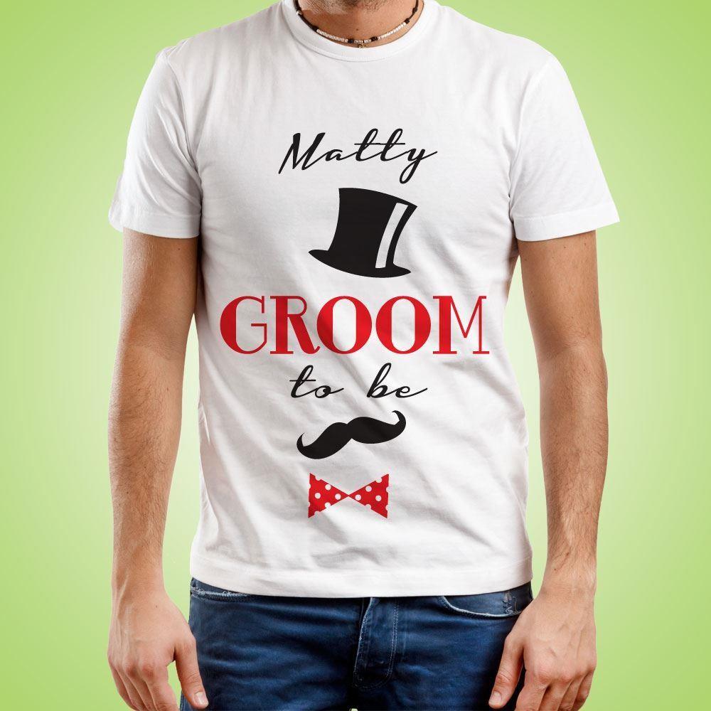 Custom Groom To Be T-Shirt