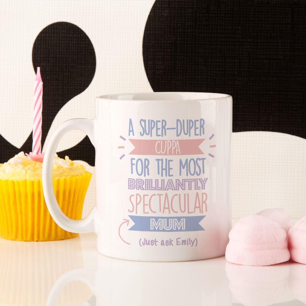 Personalised Best Mum...Just Ask Mug