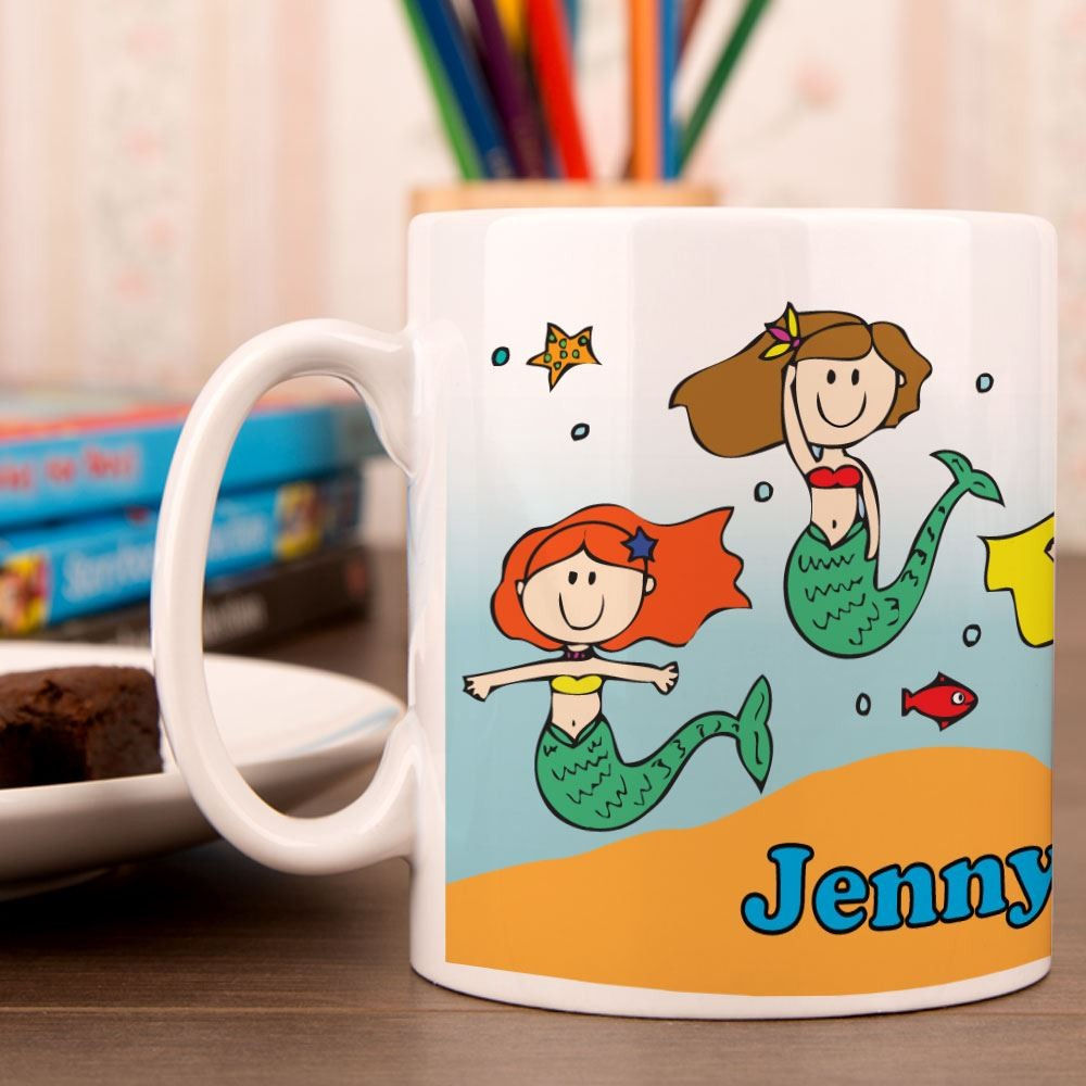 Girls Mermaid Mug