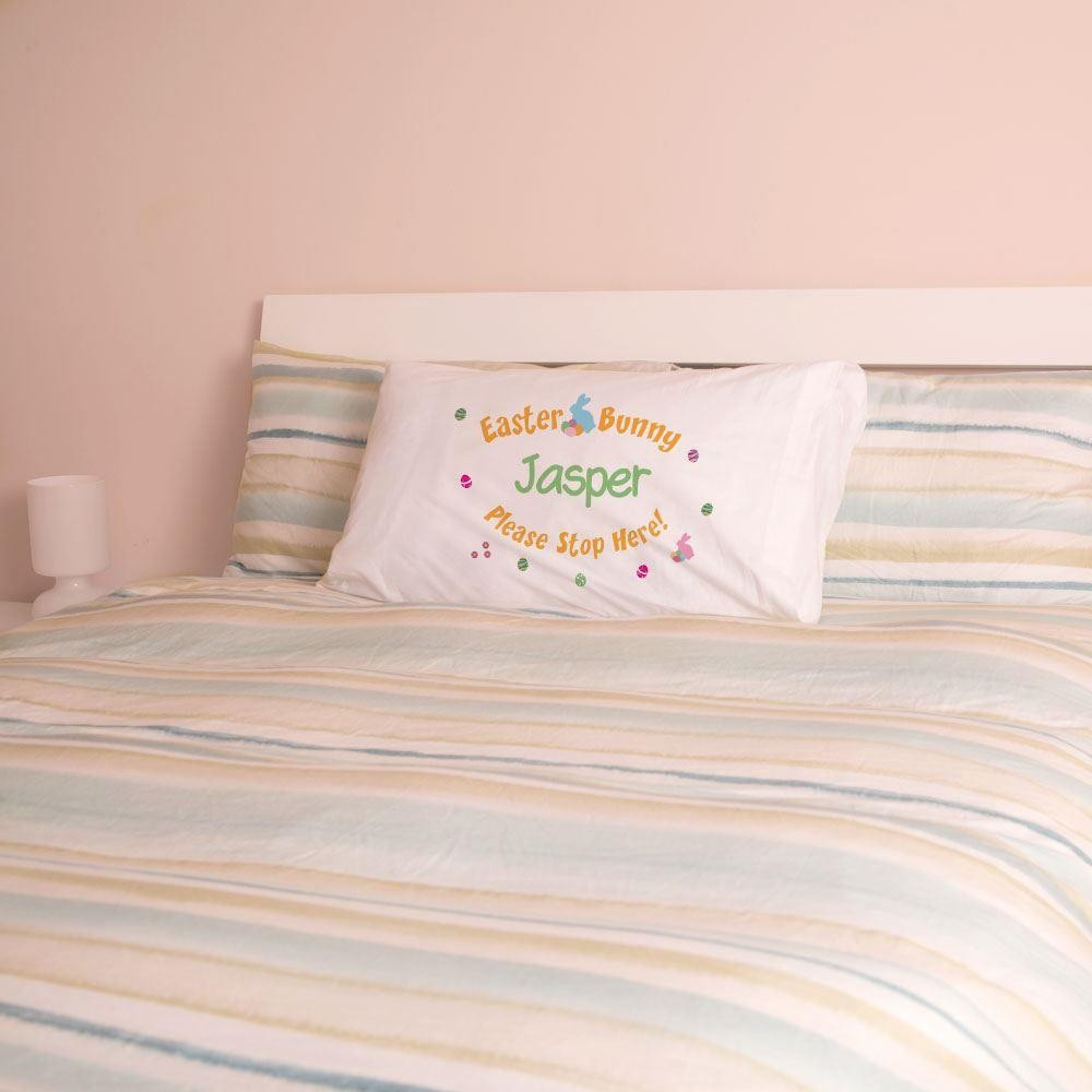 Personalised Easter Pillowcase