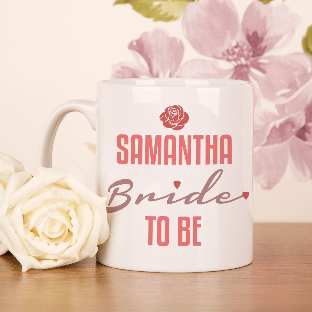 Personalised Bride to Be Mug