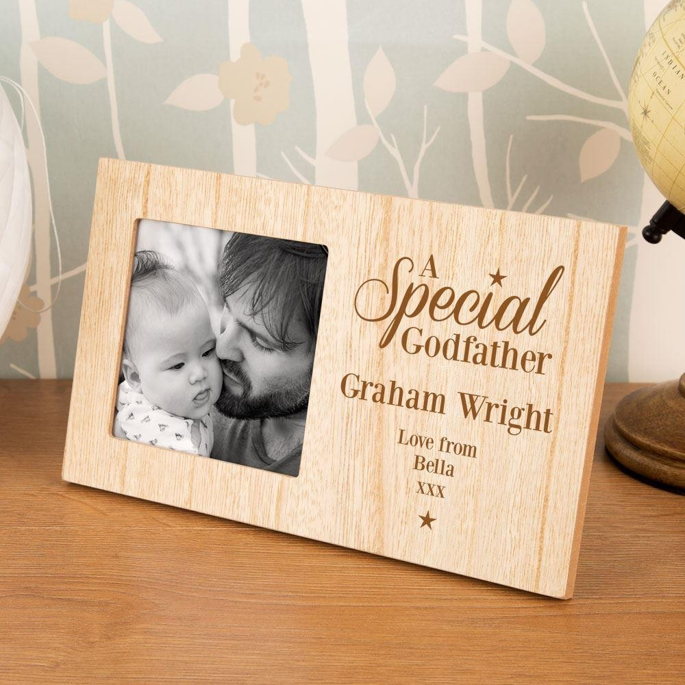 Special Godfather Personalised Photo Frame