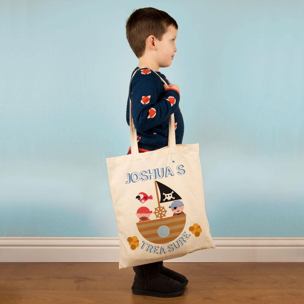 Customised Pirate Treasure Shoulder Bag