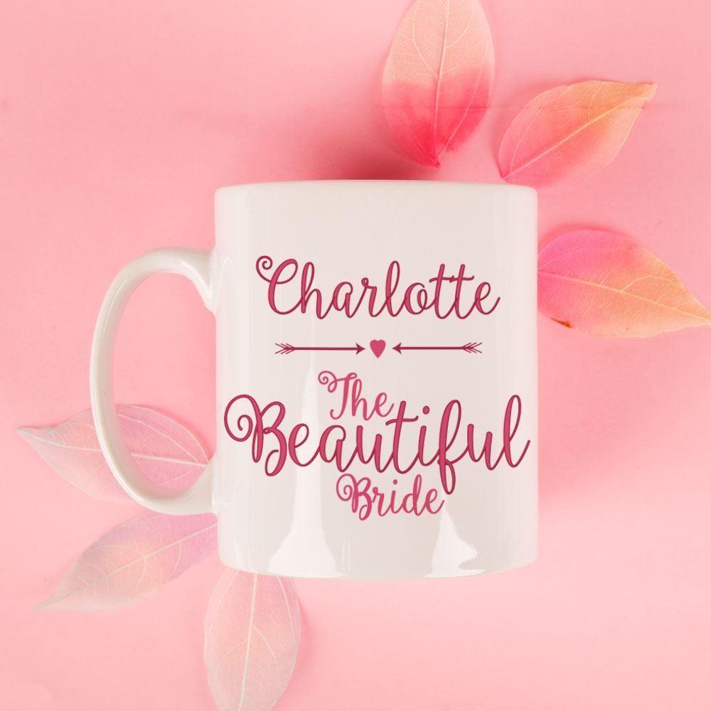 Personalised Beautiful Bride Mug