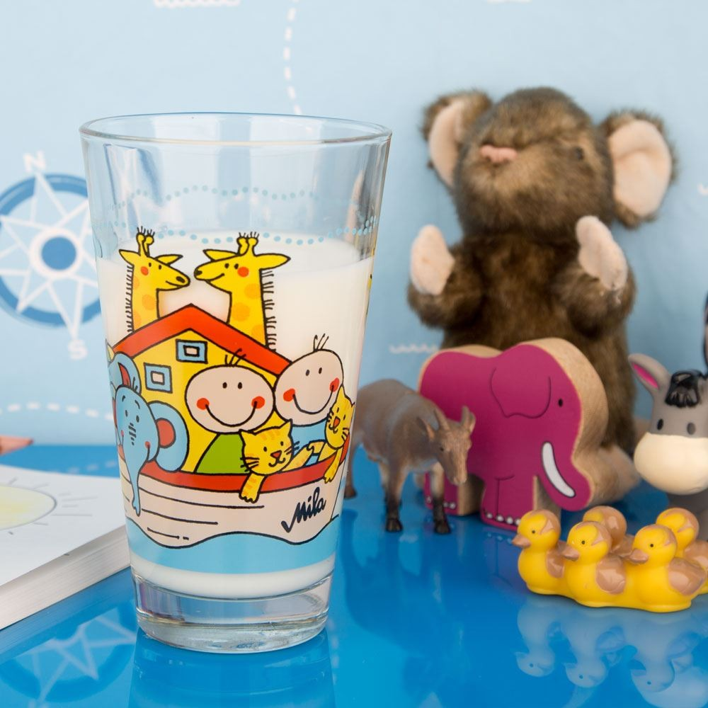 Noah's Ark Glass