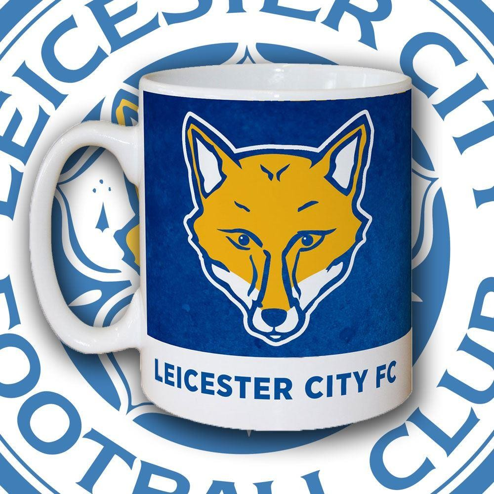 Personalised Leicester City Fc Emblem Mug Forever Bespoke
