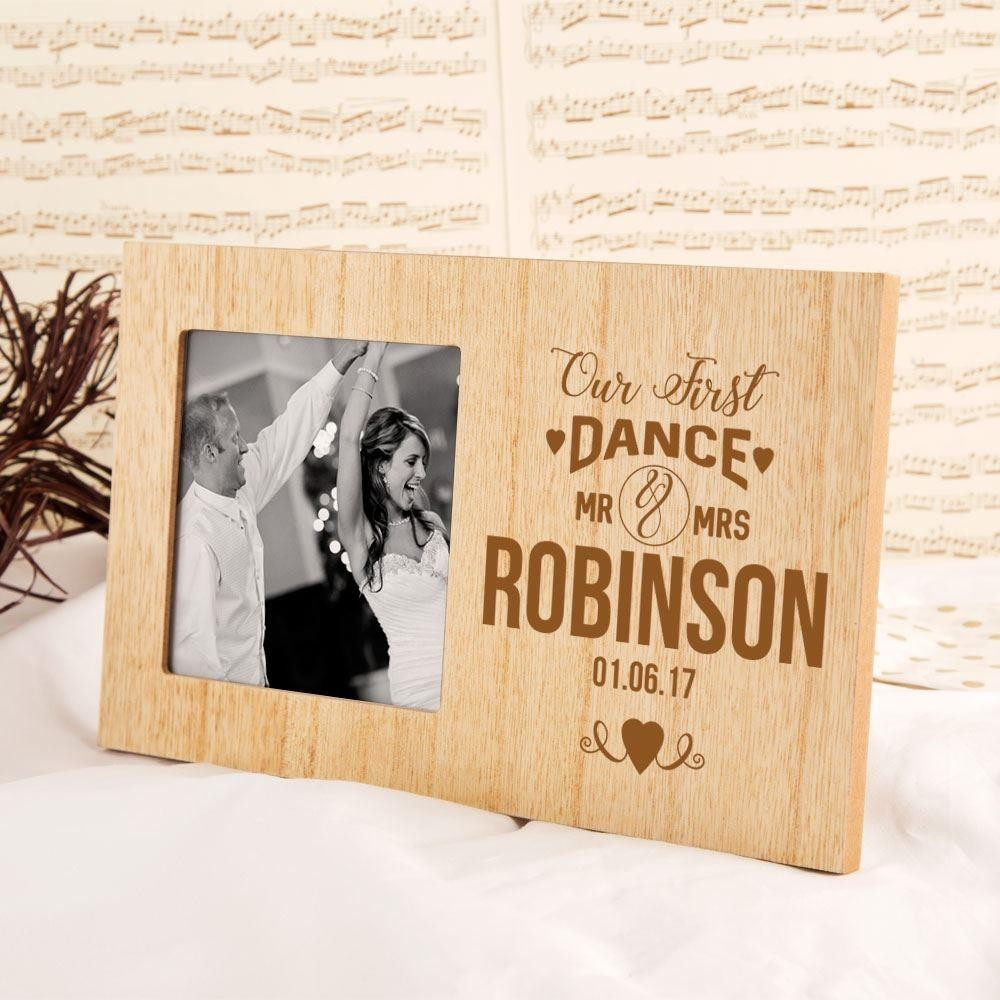 Personalised First Dance Wedding Photo Frame